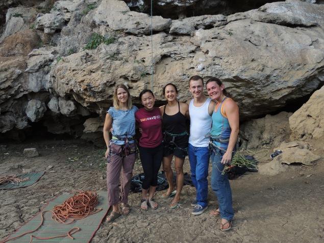 L to R: Rebekka, Me, Prisca, Johannes, Hege
