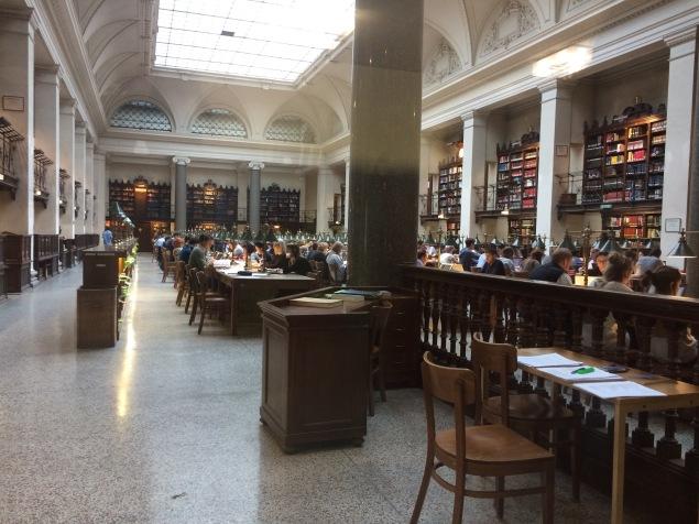 University of Wien- Library