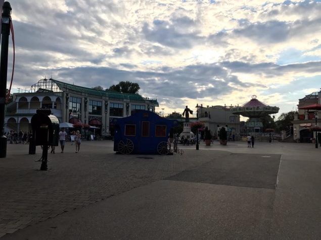 Prater small amusement park-vienna