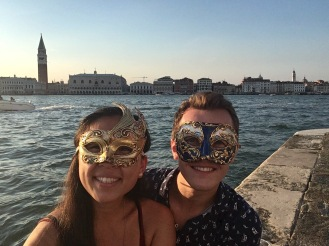 Our carnival masks!